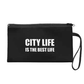 City Life Best Life Wristlet