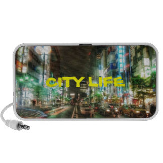 CITY LIFE COLLECTION iPhone SPEAKERS