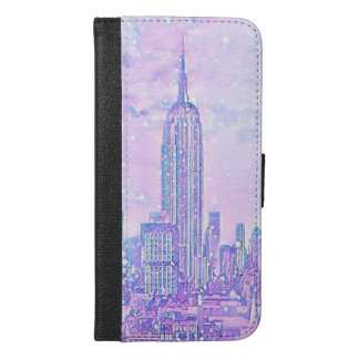 City Life iPhone 6/6s Plus Wallet Case