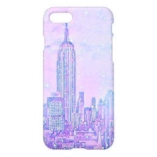 City Life iPhone 8/7 Glossy Case
