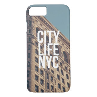 City Life NYC iPhone 7 Case