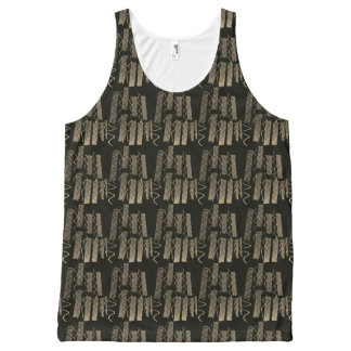 city lights abstract All-Over print singlet