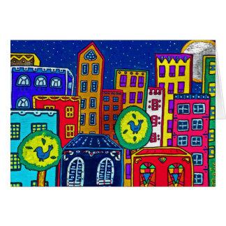 City Lights Card