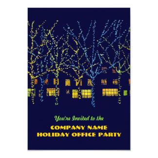 City Lights Company Holiday Party Invitations