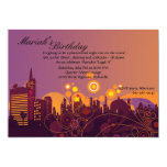 City Lights Invitation 13 Cm X 18 Cm Invitation Card
