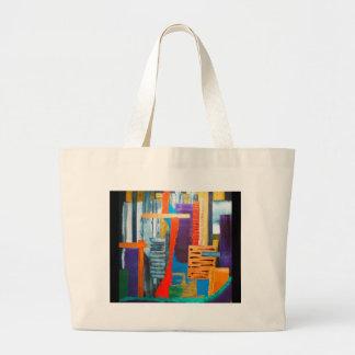 City Lights Jumbo Tote Bag