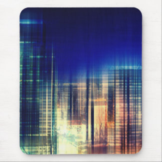 City Lights Mouse Pad