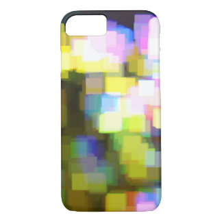 City Lights Pixel iPhone 7 Case