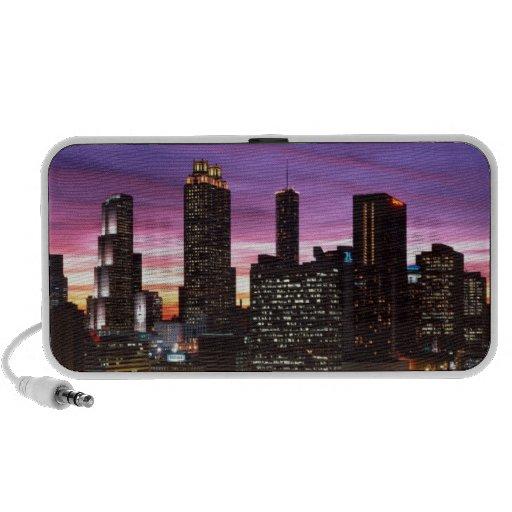City Lights Laptop Speakers