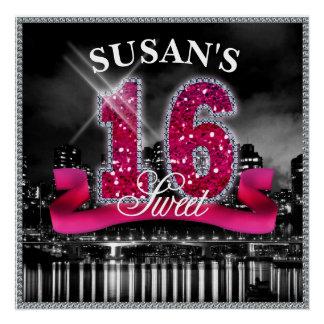 City Lights Sweet Sixteen ID117 Poster