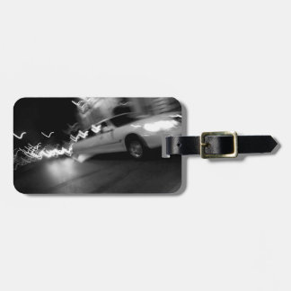 City Limousine at Night Tags For Luggage