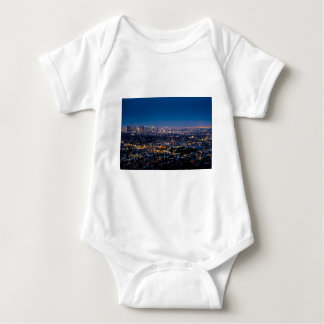 City Los Angeles Cityscape Skyline Downtown Baby Bodysuit