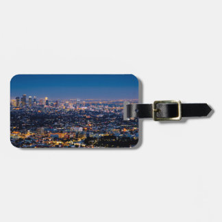 City Los Angeles Cityscape Skyline Downtown Luggage Tag