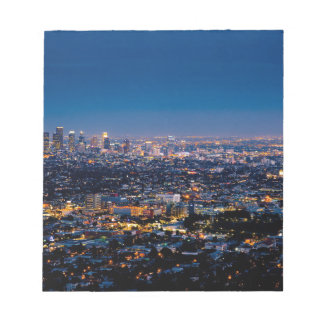 City Los Angeles Cityscape Skyline Downtown Notepad