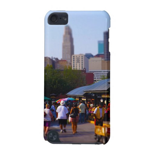 City Market and Downtown Kansas City Skyline iPod Touch 5G Case