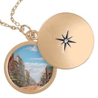 City - Memphis TN - Main Street Mall 1909 Locket Necklace