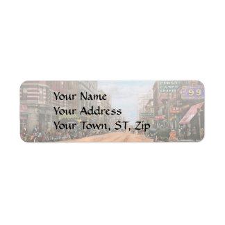 City - Memphis TN - Main Street Mall 1909 Return Address Label