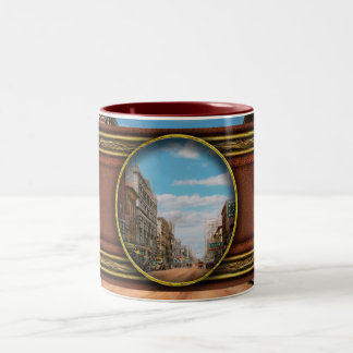 City - Memphis TN - Main Street Mall 1909 Two-Tone Coffee Mug