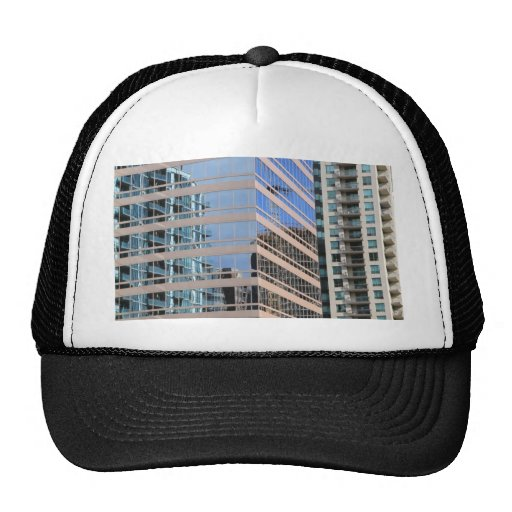 City Modern Architecture Mesh Hats