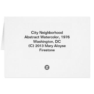 City Neighborhood Card