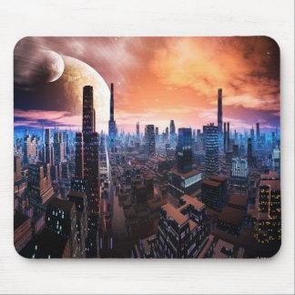 'City Never Sleeps' Mousemat