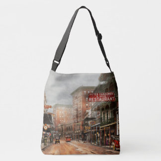 City - New Orleans - A look at St Charles Ave 1910 Crossbody Bag