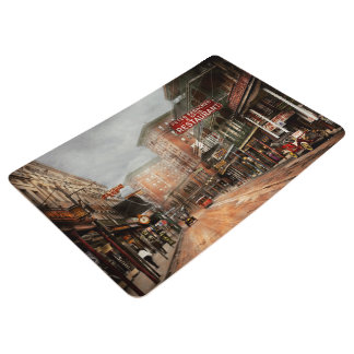 City - New Orleans - A look at St Charles Ave 1910 Floor Mat