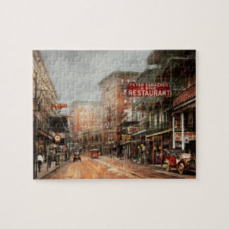 City - New Orleans - A look at St Charles Ave 1910 Puzzles