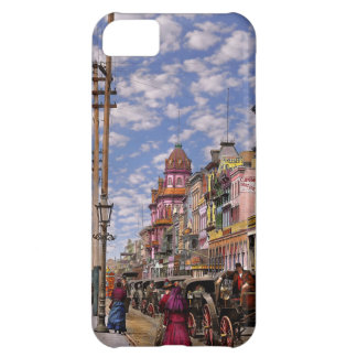 City - New Orleans the Victorian era 1887 iPhone 5C Case