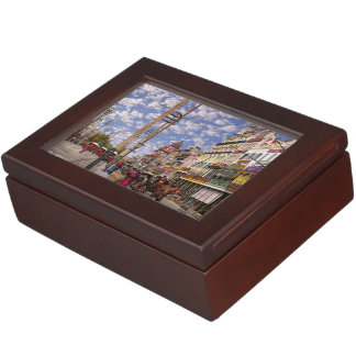 City - New Orleans the Victorian era 1887 Keepsake Box