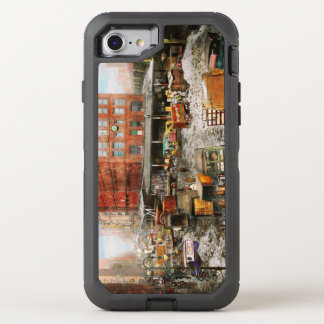 City - New York NY - Stuck in a rut 1920 OtterBox Defender iPhone 8/7 Case