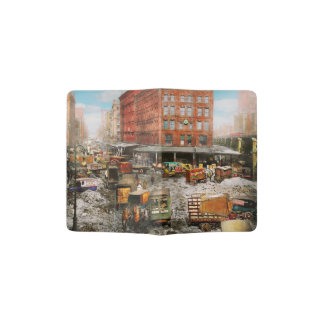 City - New York NY - Stuck in a rut 1920 Passport Holder