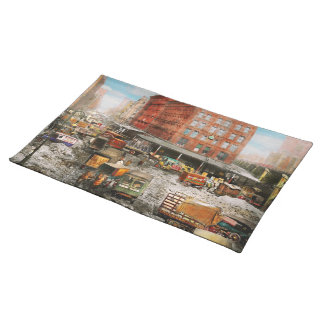 City - New York NY - Stuck in a rut 1920 Placemat