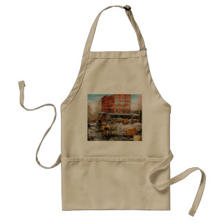 City - New York NY - Stuck in a rut 1920 Standard Apron