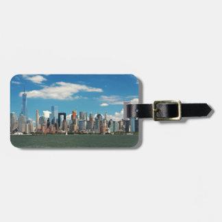 City - New York NY - The New York skyline Luggage Tag
