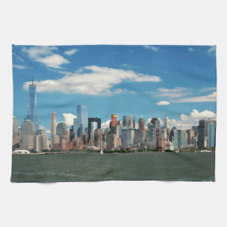 City - New York NY - The New York skyline Tea Towel