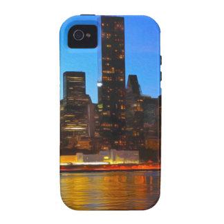 City Night Art Vibe iPhone 4 Covers