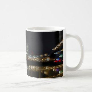 City Night Skyline Coffee Mug