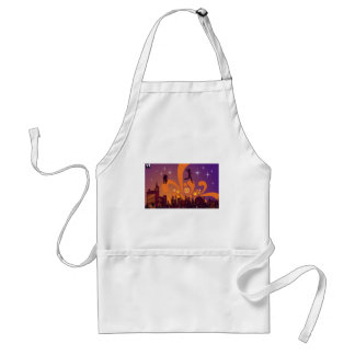 City nightlife design aprons