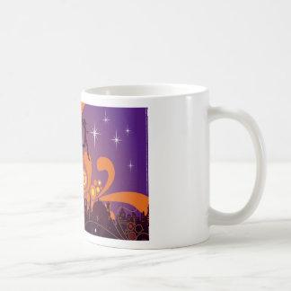 City nightlife design mugs