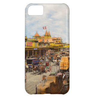 City - NY - A hundred some years ago 1900 iPhone 5C Case
