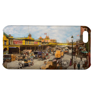 City - NY - A hundred some years ago 1900 iPhone 5C Cover