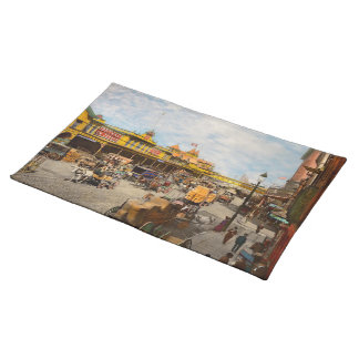 City - NY - A hundred some years ago 1900 Placemat