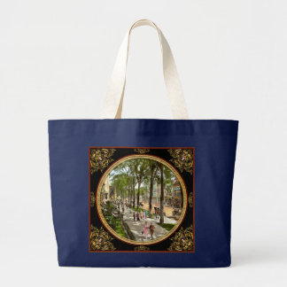 City - NY -  I would love to be on Broadway 1915 Large Tote Bag