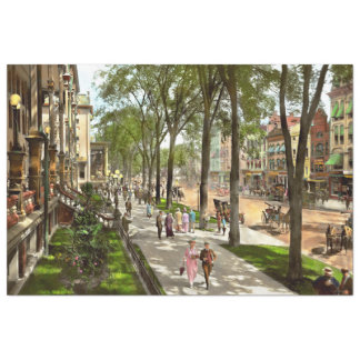City - NY -  I would love to be on Broadway 1915 Tissue Paper
