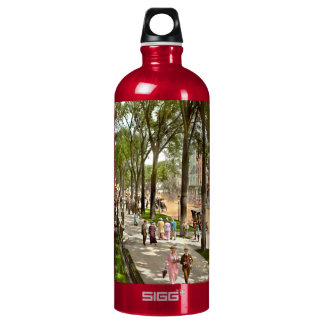City - NY -  I would love to be on Broadway 1915 Water Bottle