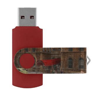 City - NY - Leo Ritter School of Nursing 1947 Swivel USB 2.0 Flash Drive