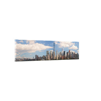 City - NY - The colors of a city Canvas Prints