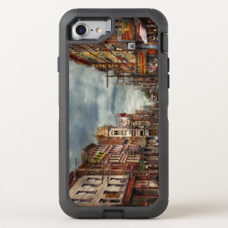 City - NY - The ever changing market place 1906 OtterBox Defender iPhone 8/7 Case