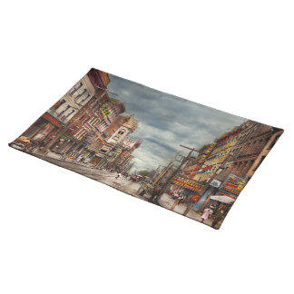 City - NY - The ever changing market place 1906 Placemat